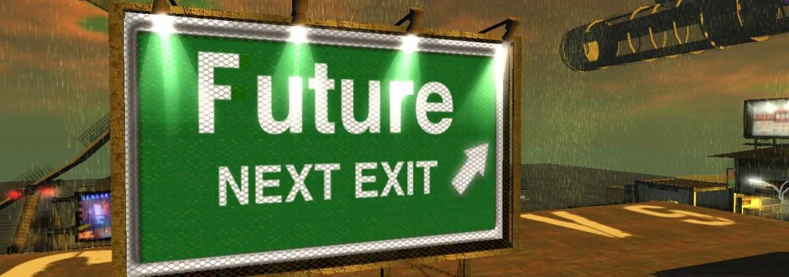 Futuristic Sign