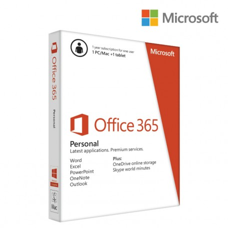 Office 365 PERSONAL 1PC 1M 1YR SUB KEY ONLY EMAIL U
